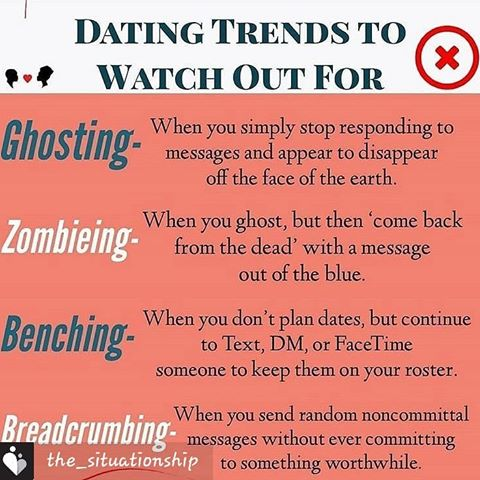 Image result for ghosting, zombie, benching