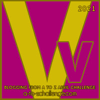 #AtoZChallenge 2021 April Blogging from A to Z Challenge letter V